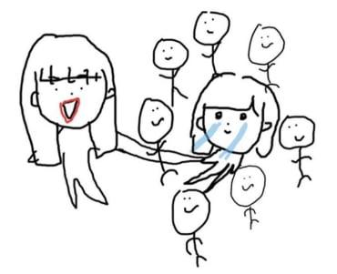 高嶋楓のイラストの画像