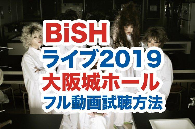 BiSHライブ(大阪城ホール)のカバー画像