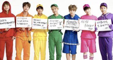 BTSのメンバーカラーの画像