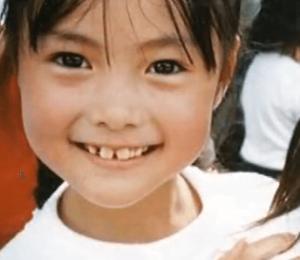 白石麻衣の子供時代の画像