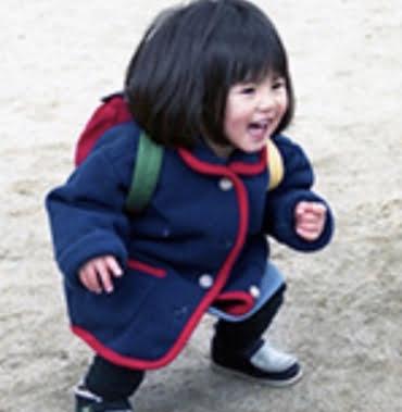 今田美桜の幼少期の画像