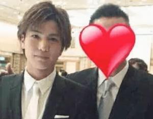岩田剛典と兄公一のツーショット画像
