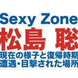 松島聡のロゴ画像