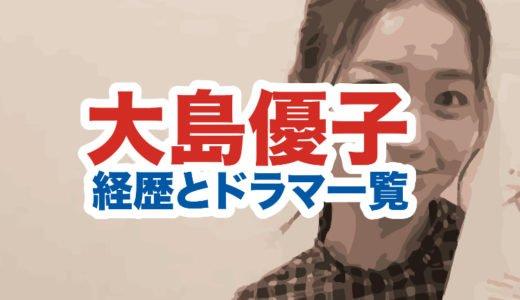 大島優子の経歴|出演テレビドラマ一覧|2020年今現在の顔画像がかわいい