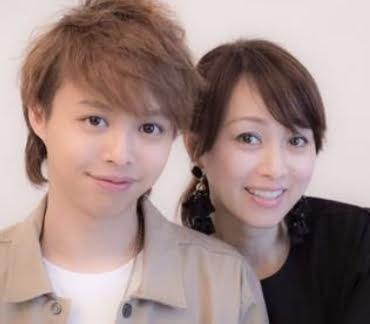 渡辺美奈代と長男の矢島愛弥(まなや)の溺愛ツーショット画像
