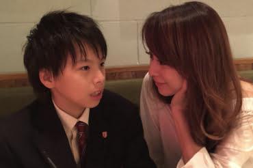 渡辺美奈代と次男の矢島名月(なづき)の溺愛ツーショット画像