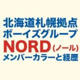NORD(ノール)メンバー紹介のロゴ画像
