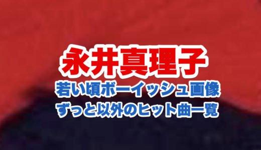 永井真理子の経歴|2020年今現在と若い頃のボーイッシュな顔画像比較|ずっと以外のヒット曲