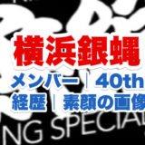 横浜銀蝿のロゴ画像