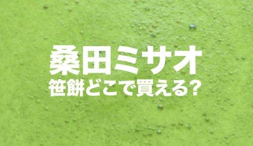 桑田ミサオの経歴|笹餅はどこで買える?著書と子供や孫の家族構成