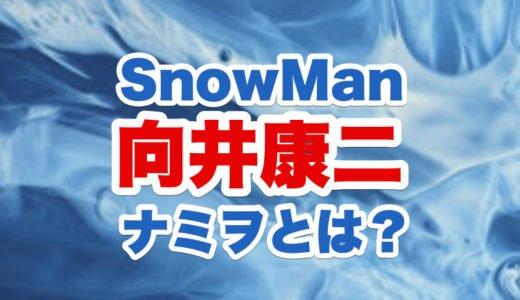 向井康二がナミヲのモノマネをする理由|SnowManとの意外な関係の深さと経歴が判明