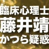 藤井靖のロゴ画像