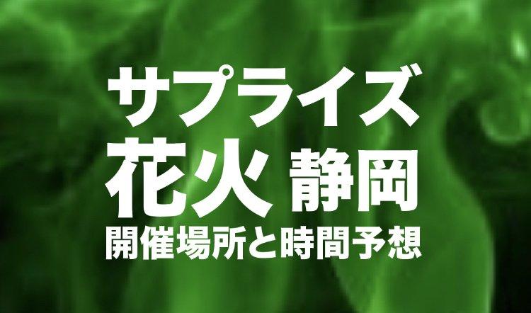 サプライズ花火静岡のロゴ画像