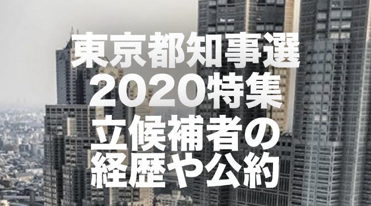 東京都知事選2020特集のバナー画像