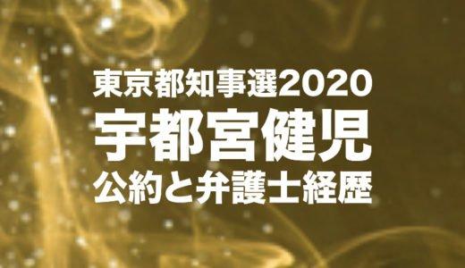 宇都宮健児の東京都知事選2020の公約と前回の出馬撤回理由|弁護士経歴や生い立ちと人柄を調査
