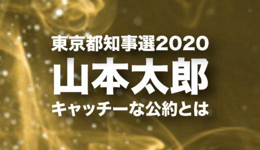 山本太郎の東京都知事選2020のキャッチーな公約とは|東京五輪中止の理由や出馬を決めたきっかけ
