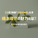橋本環奈小説の神様